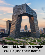 Beijing second largest city in the world