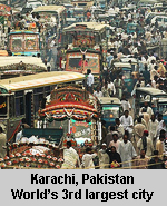 Karachi third largest city in the world
