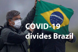 COVID-19 cases Brazil cities