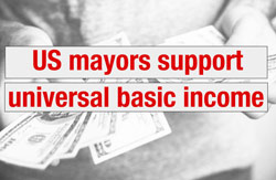 Mayors for a guaranteed income