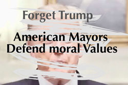 US mayors: moral values in politics